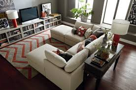 furniture traditional living room design with white u shaped