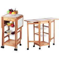 kitchen island trolleys kitchen island trolley cart with wheel folding side tables