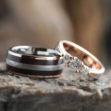 Wood Wedding Rings by Download Wooden Wedding Ring Sets Wedding Corners
