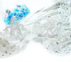 Tiara And Wand Favor by 12x Princess Set Tiara Wand Ring Dress Up Costume