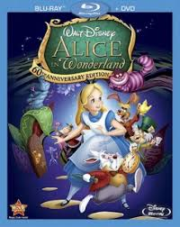 disney u0027s alice wonderland 60th anniversary blu ray dvd