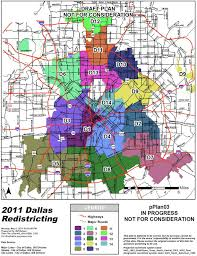 Dallas Map by Dallas Redistricting 2011 Dallas City Council Redistricting 5 9