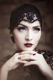 idda van munster dark 1920 s flapper look by nina and muna