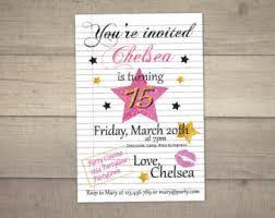 quinceanera invitation 15th birthday invitation sweet 15