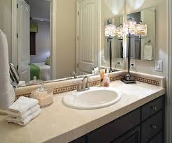 bathroom countertop decorating ideas 1000 ideas about bathroom