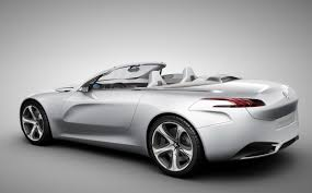 new peugeot sports car peugeot sr1 hybrid roadster showcases new design language marks