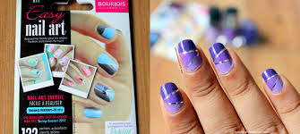 makeup and fashion freak ombre nails with bourjois easy nail art kit
