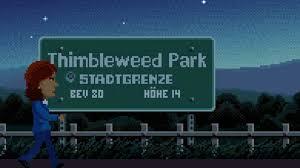 Tumbleweed Park Map Thimbleweed Park Adventure Kommt Bald Für Nintendo Switch
