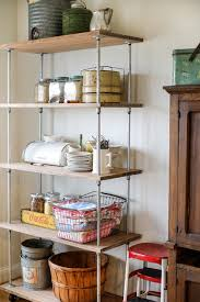 diy kitchen shelves industrial shelving diy industrial kitchen columbus by julie