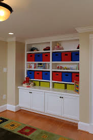 toy storage units kids eclectic with baseboards bookcase