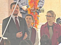 season 7 arrow thanksgiving with oliver felicity smoak