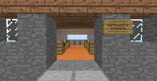 How To Make A Table In Minecraft Building Tutorial How To Make A Nice Cafeteria Minecraft Project