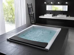 bathroom design whirlpool tub ideas corner jacuzzi modern small