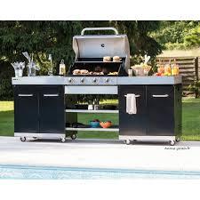 cuisiner avec barbecue a gaz d extérieur summer gaz évier plancha brûleurs cook in garden