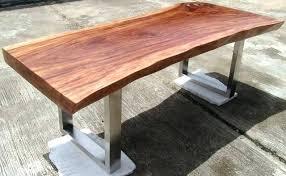 wood slab desk tops u2013 binteo me