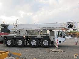 100 ton with 164 feet boom jib crane for sale in new york new york on