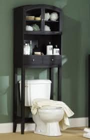 Black Bathroom Shelves Black Bathroom Space Saver Toilet Foter