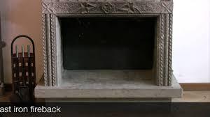 Caminetto In Ghisa Prezzi by Lastre In Ghisa Istallazione Youtube