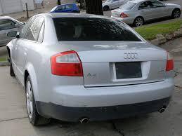 audi 1 8 l turbo 2002 audi a4 1 8t quattro parts car stock 005133