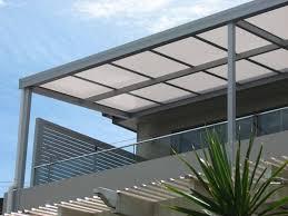 pensilina tettoia in policarbonato plexiglass policarbonato materiali cos 礙 il policarbonato