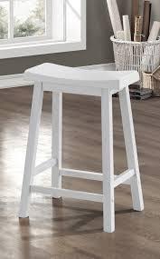 Saddle Seat Bar Stool Amazon Com White 24