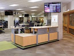 Library Reference Desk Uw Madison Wendt Commons Library Wi Demco Interiors
