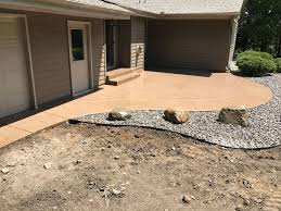 Average Price For Stamped Concrete Patio by Stamped Concrete Patio Harold J Pietig U0026 Sons Inc