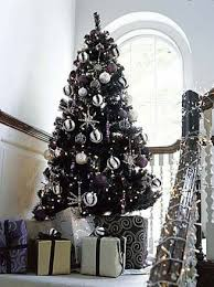 silver and purple tree decorations rainforest islands