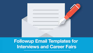 Follow Up Business Email by Follow Up Email Templates For Interviews And Career Fairs