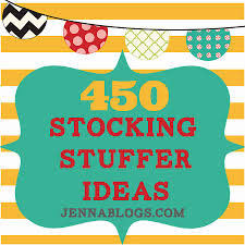 Ideas For Stocking Stuffers Jenna Blogs 450 Stocking Stuffer Ideas