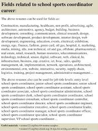 Sports Resume Sample by Top 8 Sports Coordinator Resume Samples