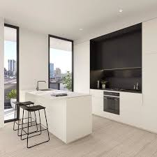 cuisine blanc noir 465 best cuisines avec îlot central images on kitchen