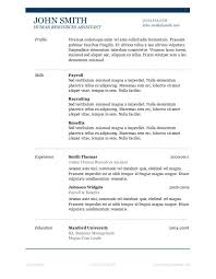 Resume Template Microsoft Word Mac Does Word Have A Resume Template Gfyork Com