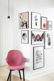 Arbeitstisch Ecke Wand Dekorieren Ecke Mit Bildern Gestalten Einrichtung
