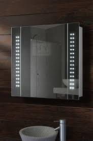 Bathroom Cabinet With Lights Galactic Illuminated Bathroom Mirror Cabinet My Furniture