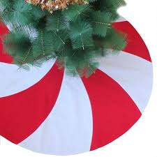 Peppermint Twist Tree Skirt Using Best 25 Modern Tree Skirts Ideas On
