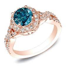blue rose rings images 25 best blue diamond rings images blue diamonds jpg