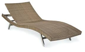 chaise lounge outdoor wicker chaise lounge spring haven brown