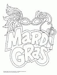 mardi gras coloring pages venetian mardi gras mask coloring page