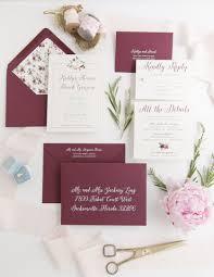 wedding invitations burgundy burgundy wedding invitation archives o brien design