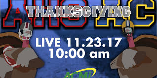 the thanksgiving football live on acmi arlington high