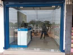 entrance glass door glass door frame less shop front glass doors service provider