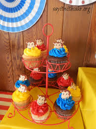 curious george cupcakes curious george party say it with cake