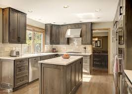 Alder Kitchen Cabinets by Best 25 Gray Stained Cabinets Ideas Only On Pinterest Grey Wood