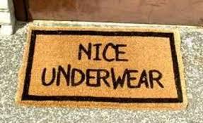 doormat funny nice underwear jpg