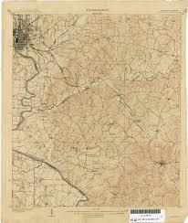 Atlanta Area Map Georgia Historical Topographic Maps Perry Castañeda Map