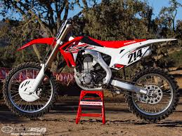 2015 honda crf450r first ride photos motorcycle usa