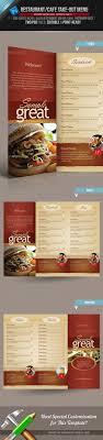 takeout menu template template takeout menu template
