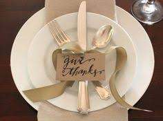 diy simple thanksgiving place setting thanksgiving table place