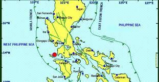 san jose mindoro map earthquake int 5 batangas city at least int 4 lipa and why